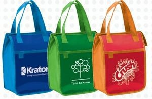 New Wellness Incentive Gift: Imprinted Insulated Lunch Bag