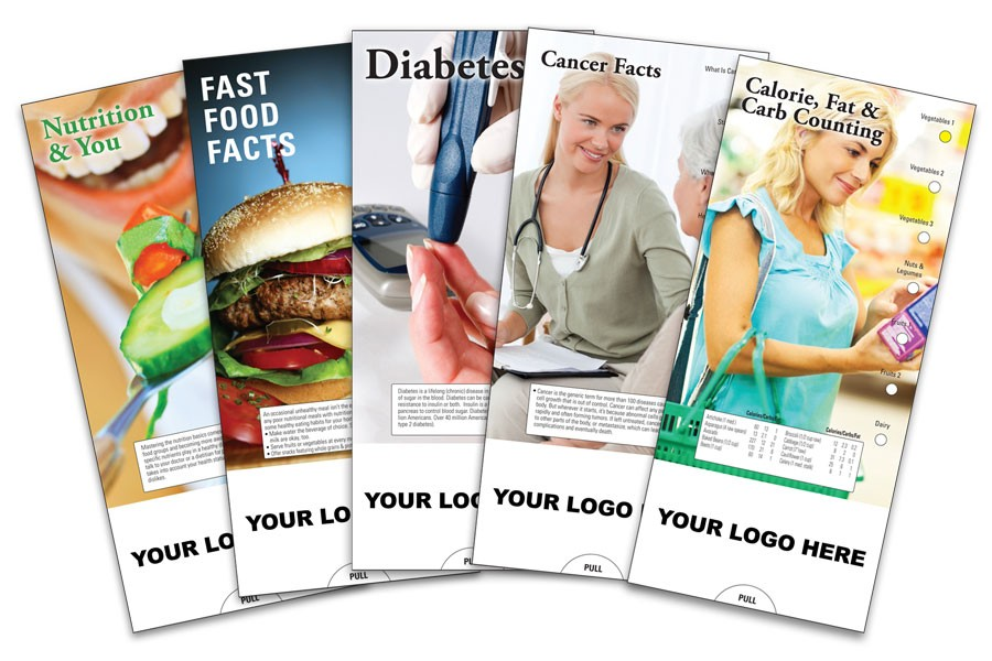 Imprinted Wellness Guides: Perfect for Any Wellness Program or Health Fair