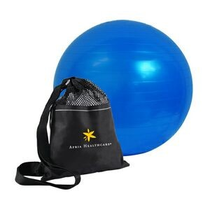 New Imprinted Exercise or Fitness Ball