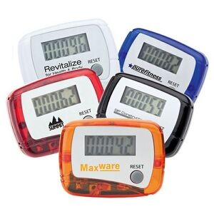 Budget Imprinted Pedometer for Wellness Programs