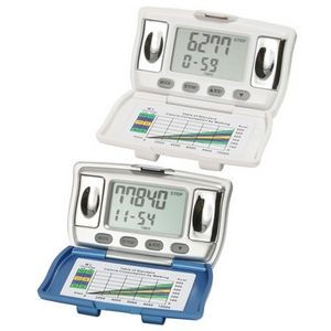 New! Custom Printed BMI & Body Fat Pedometers