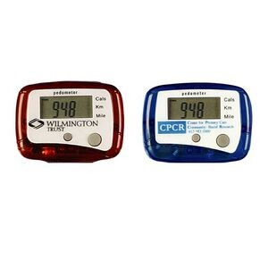 Promotional Pedometers in Translucent Colors