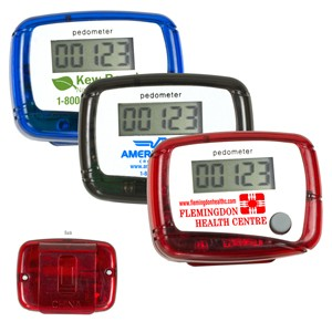 Imprinted Pedometers: The Perfect Holiday Gift