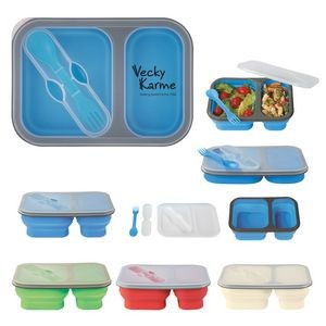 Custom Branded Collapsible Lunch Container