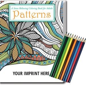 Custom Branded Adult Coloring Book